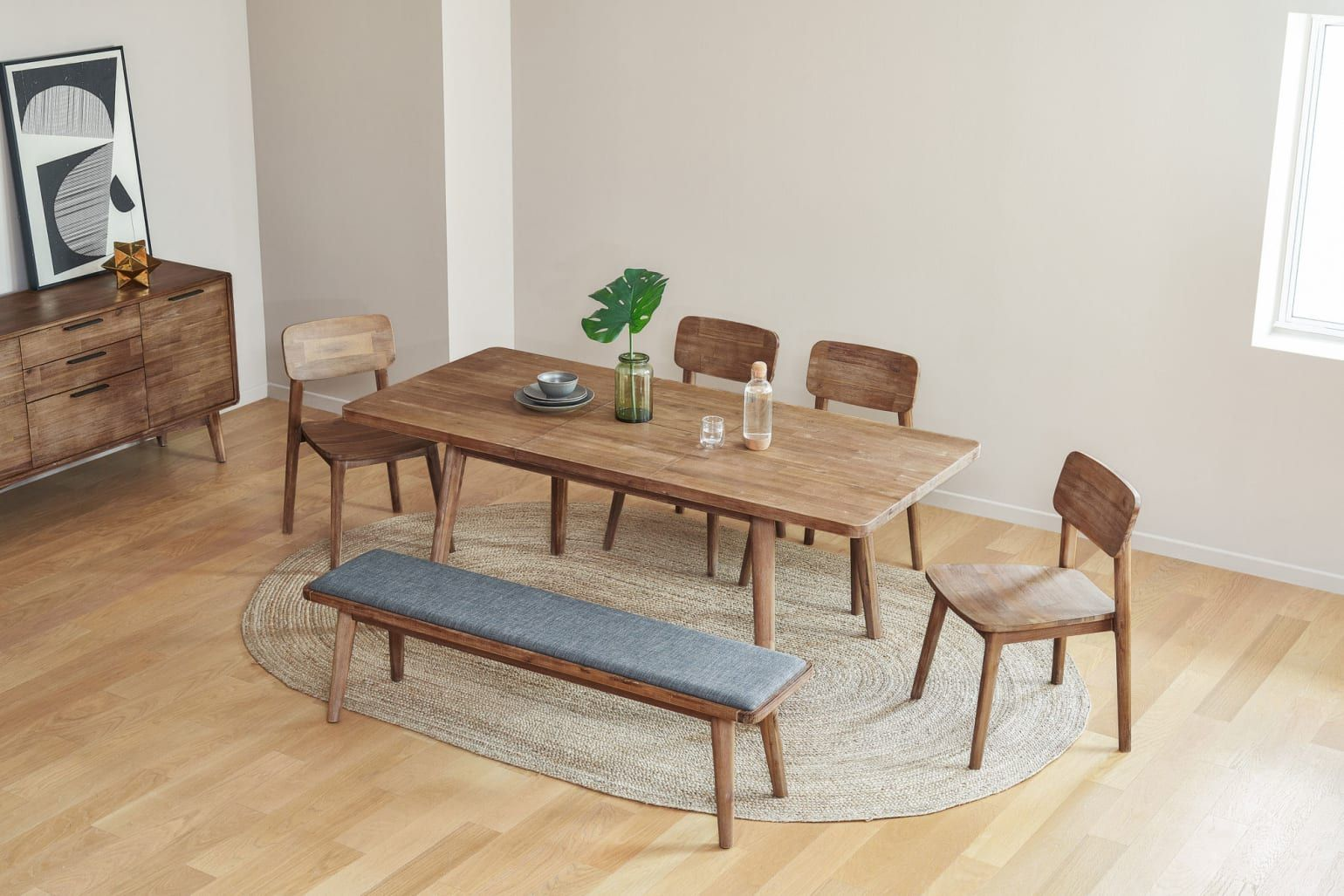 24+ Extendable dining table with bench Best