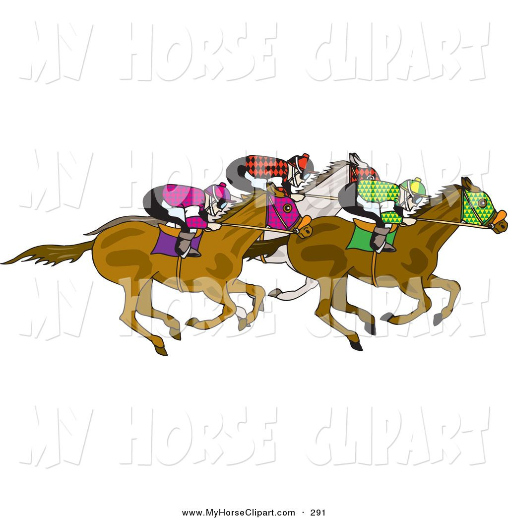12++ Free clipart horse racing info
