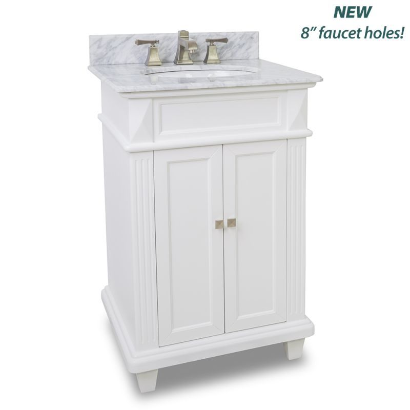 "view the elements van094-t-mw douglas collection 24"" inch bathroom"