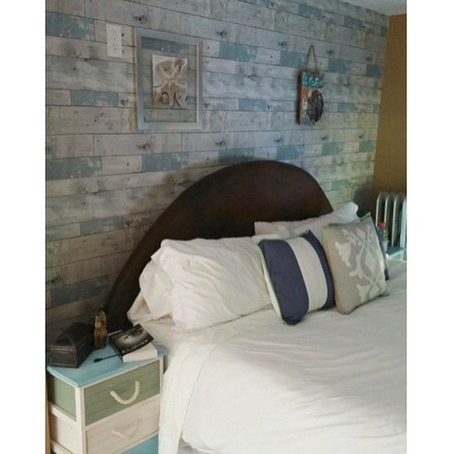 Loving Michelle's Bedroom Feature Wall With The Beachwood