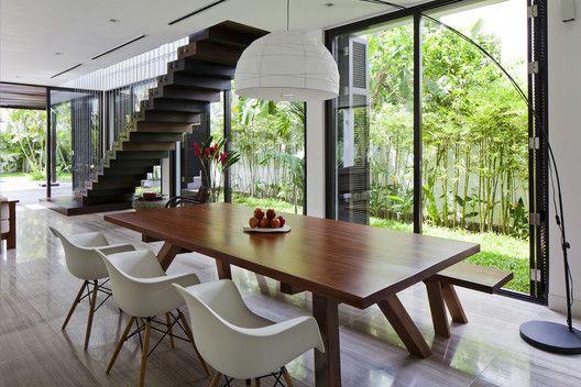 Casa en Thao Dien,© Hiroyuki OKI