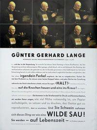 Escehaeriefte: Magazin für alphabete Kultur. Typographische Gesellschaft München, 1. Ausgabe, 2009. Günter Gerhard Lange at Typo Berlin '96.