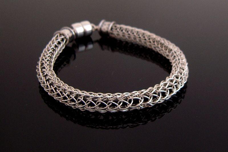 mens viking knit bracelet - Google Search | Men\'s jewelry | Pinterest