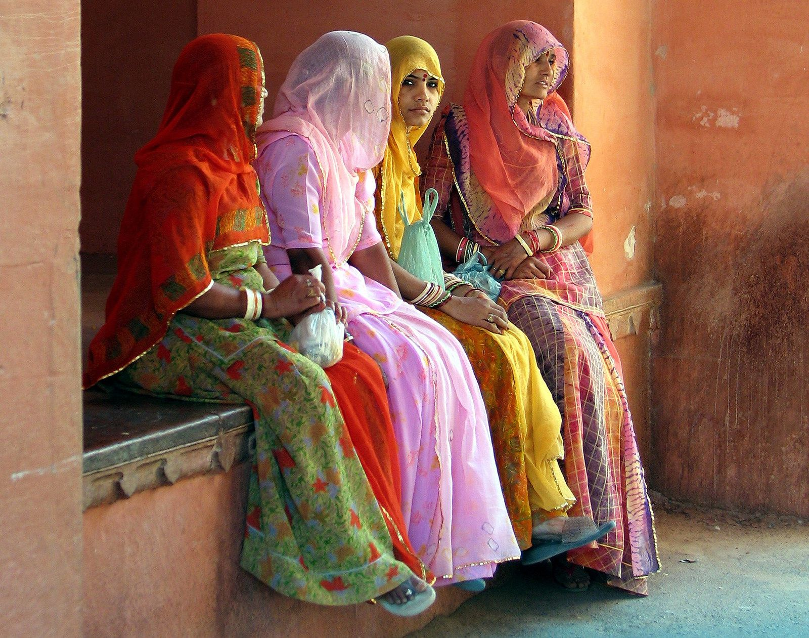 India  the women Bikaner fort detail  India   Pinterest