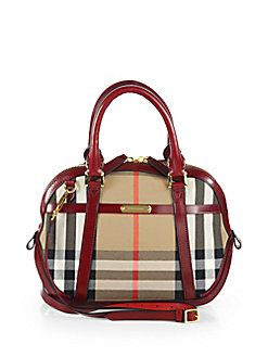 Burberry - Orchard Small Check-Print Bowling Bag How To Make Handbags 3ec8198c5de3d