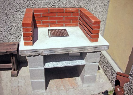 Vediamo nel dettaglio come costruire un barbecue di for Disegni di casa piano aperto