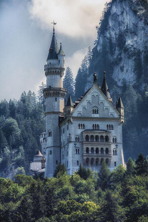 Tryagaindairy Bezumnogo Korolya Lyudviga Nojshvanshtajn Germaniya Burgen Und Schlosser Neuschwanenstein Schloss Neuschwanstein
