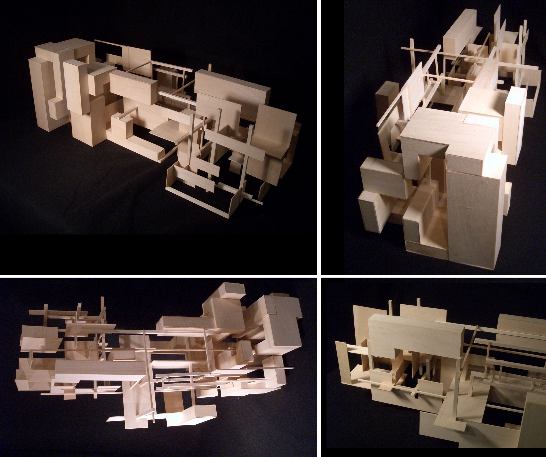 architectural design studio 1. Title  Bridge Design Studio 1 Bridging Stereotomic and Techtonic Basswood 11W x 30L
