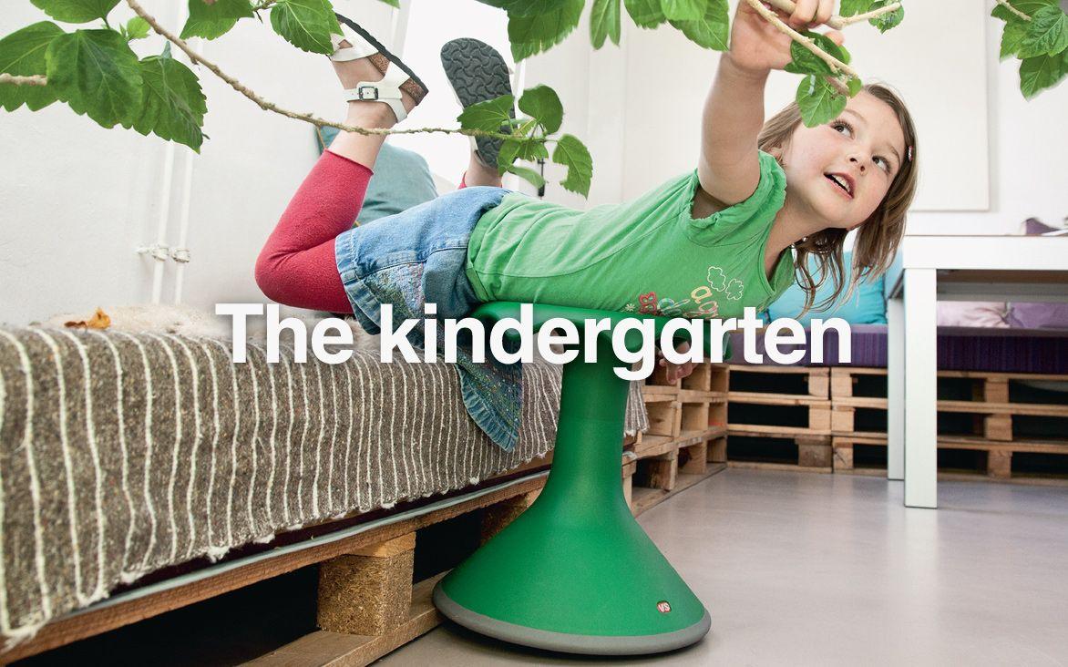 Vs Kindergarten Hokki Stool For The Kindergarten Living Space