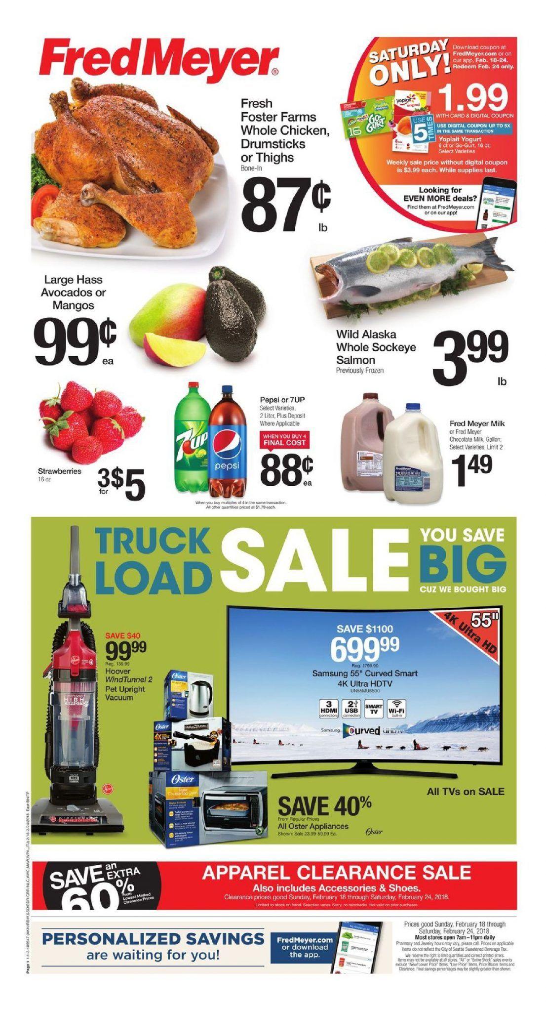 Fred Meyer Weekly Ad Flyer Mar 11 Mar 17 2020 Fred Meyer