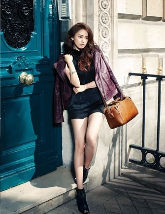 Kim Tae Hee Modern Chic for JLOOK Photo Shoot in Paris ...