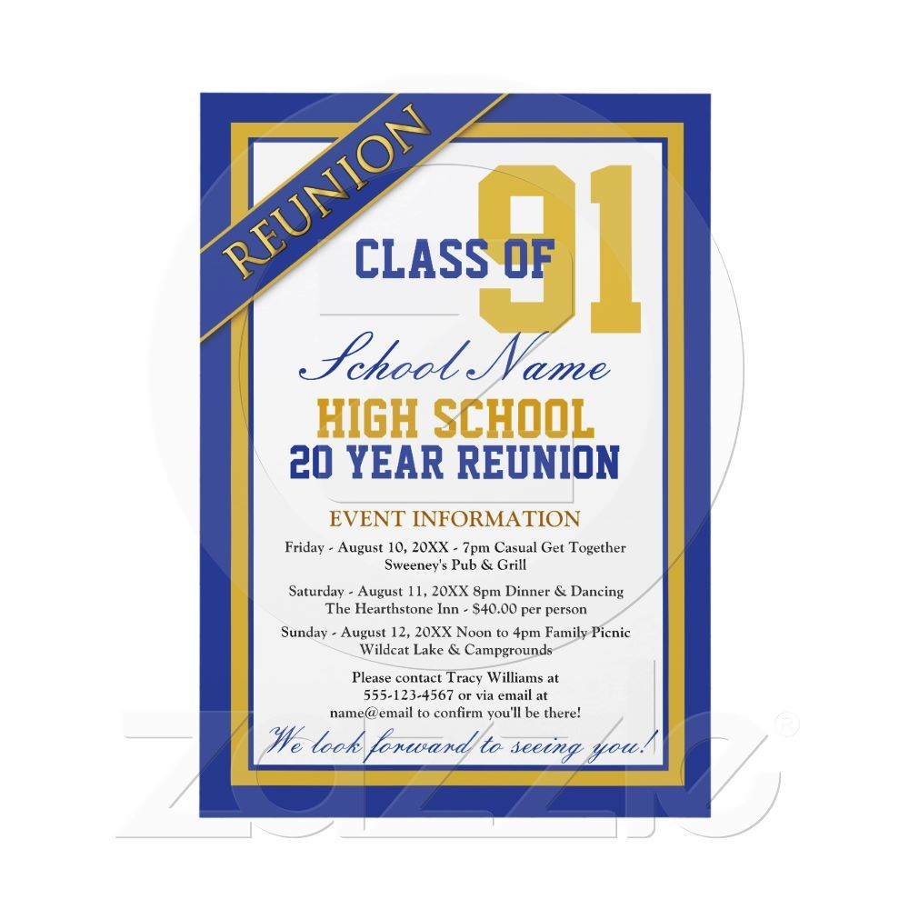 Reunion Invitation | class ideas | Pinterest | Invitaciones