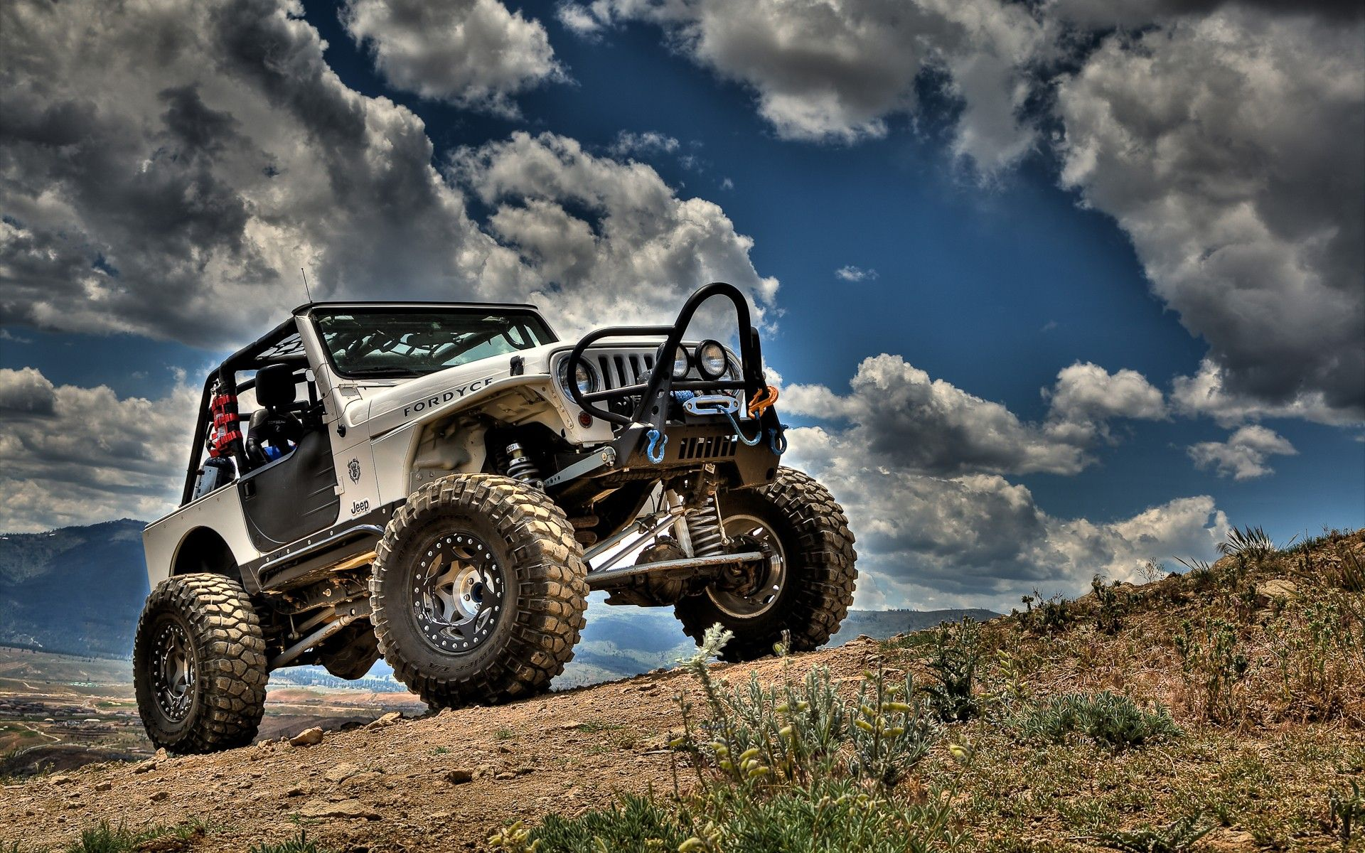 Nature Cars Jeep Hdr Photography Skyscapes Jeep Wrangler 1920x1200 Wallpaper Jeep Wallpaper Jeep Wrangler Jeep