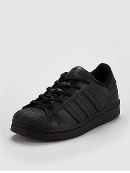 adidas originals superstar trainers black, Adidas Originals