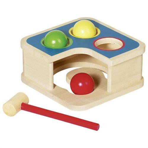 Buy Goki Wooden Hammer Bench And Ball Track at BabyJoy.ca ...