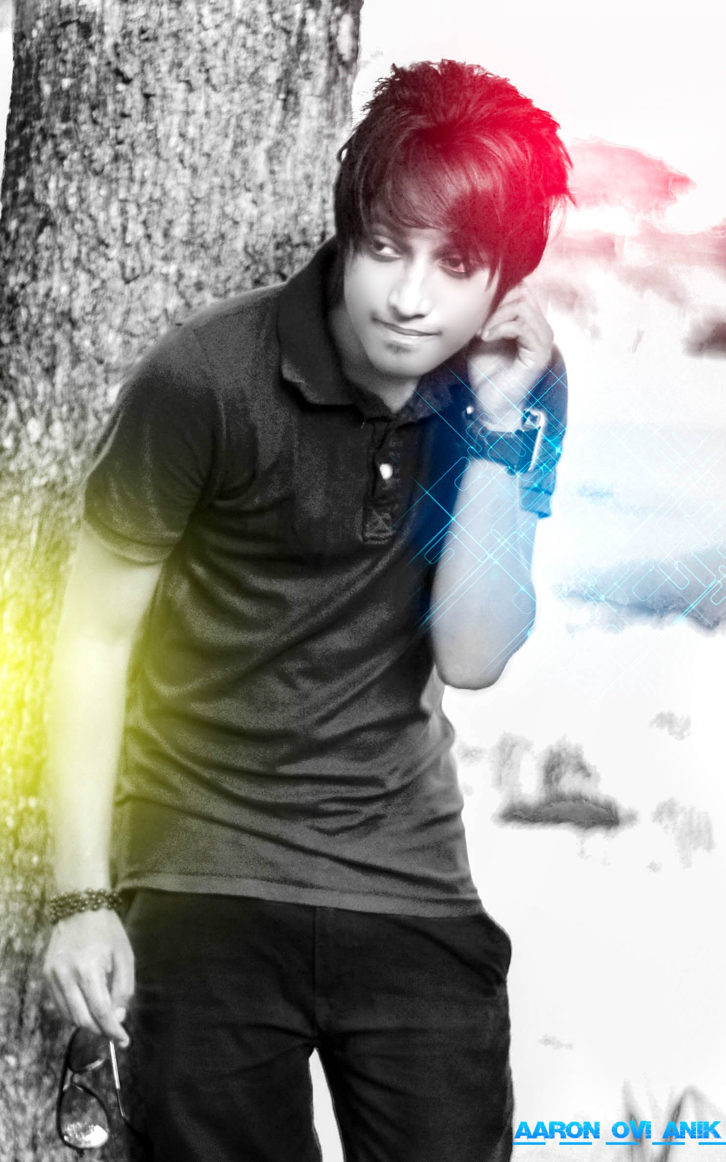 Image emo boy stylish