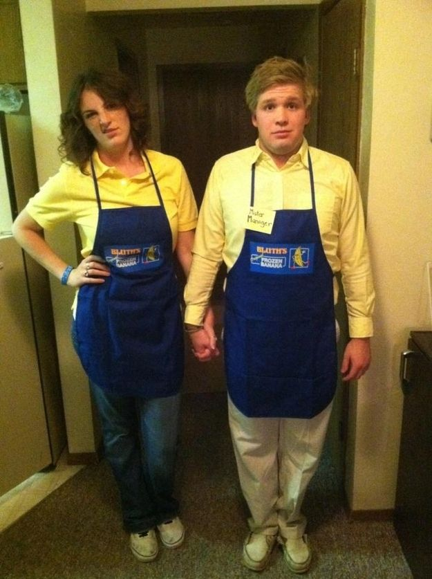 Maeby and George Michael Awesome, Big night and Halloween games - clever halloween costume ideas