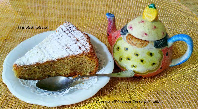 Caprese+all'Arancia+Torta+per+Celiaci