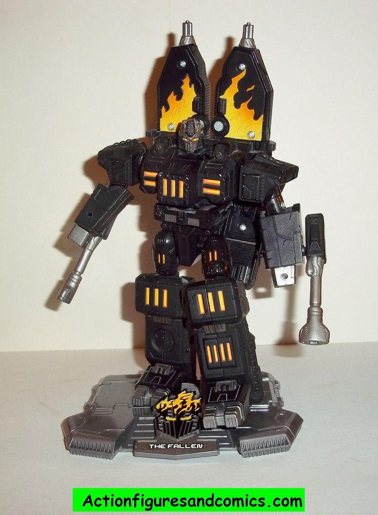 Transformers Titanium FALLEN war within cybertron complete die cast 6 inch series