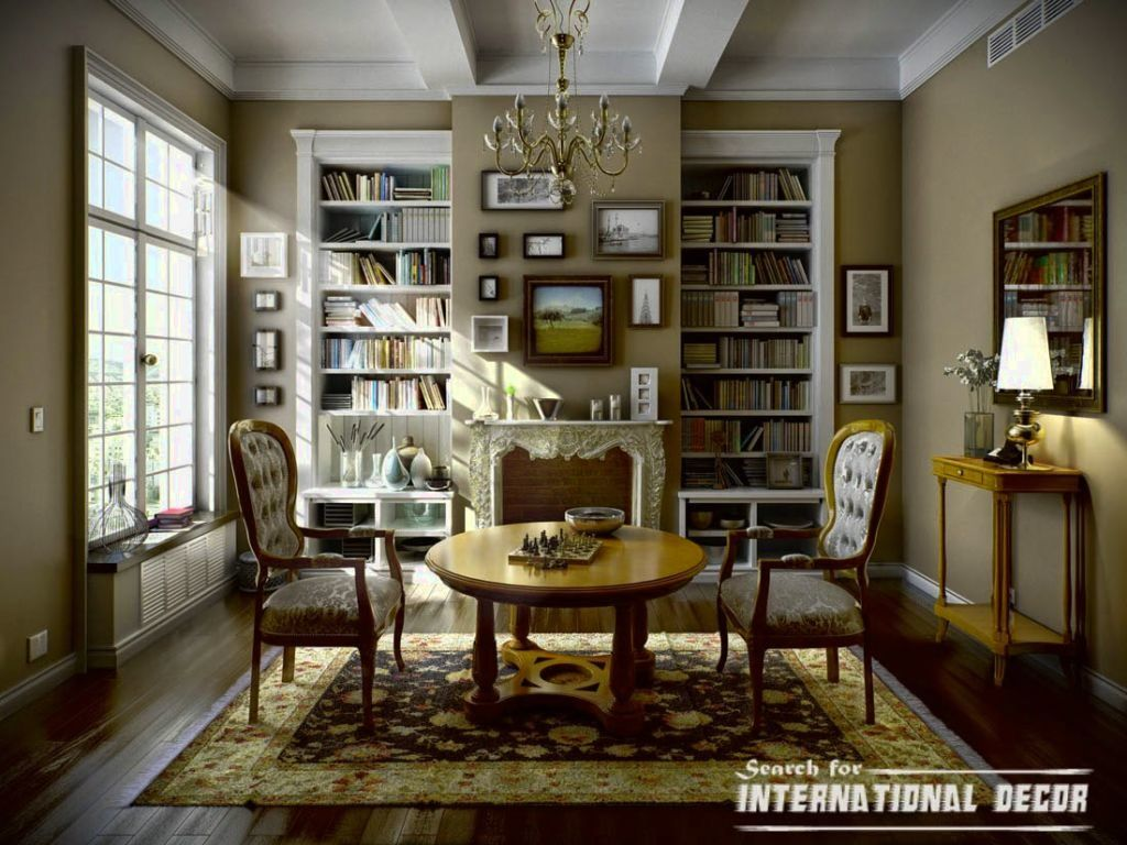 Classic Interior Design Ideas For Living Rooms Country House