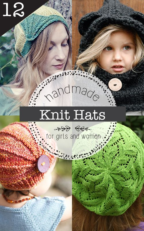 12 Gorgeous Knit Hat Patterns For Girls And Women You Wont Want To