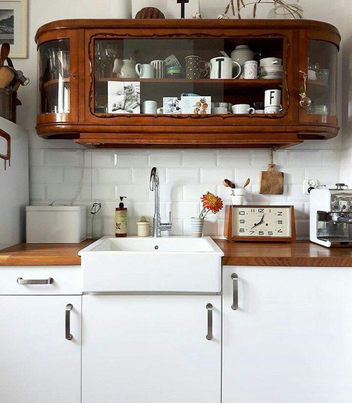 vintage cupboard (mit Bildern) Haus küchen, Küchen