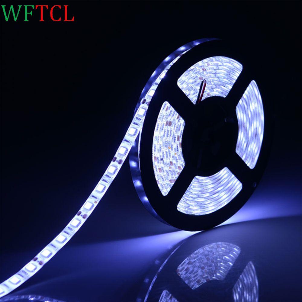 US $5.59 led lampen 5050 DC12V LED strip flexible light IP65 ...
