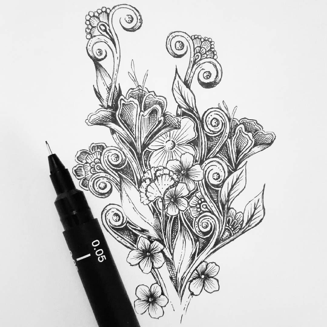 Hello drawing draw dessin zendoodle zentangle artist art
