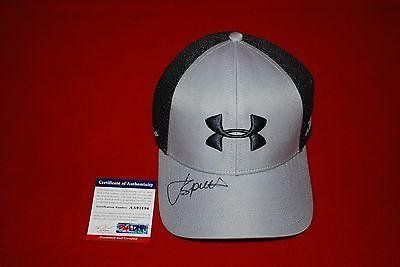 golf star JORDAN SPIETH signed under armour hat 2  PSADNA Certified  Autographed Golf Equipment *** Be sure to check out this awesome product. (Note:Amazon affiliate link)