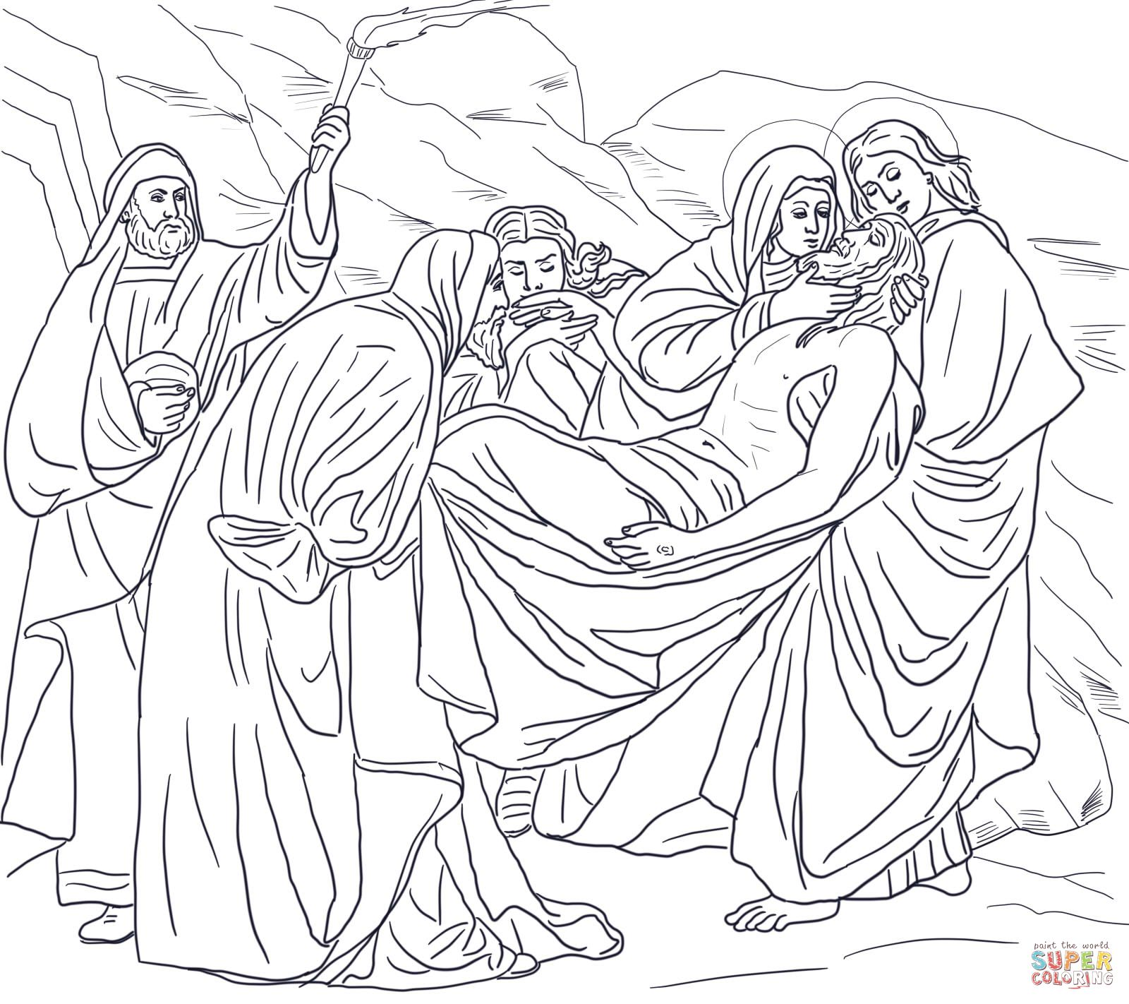 Good Friday coloring pages
