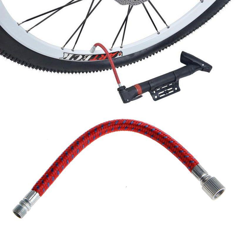 1 St Fiets Pompen Bike Opblazen Pomp Slang Adapter Naald Valve