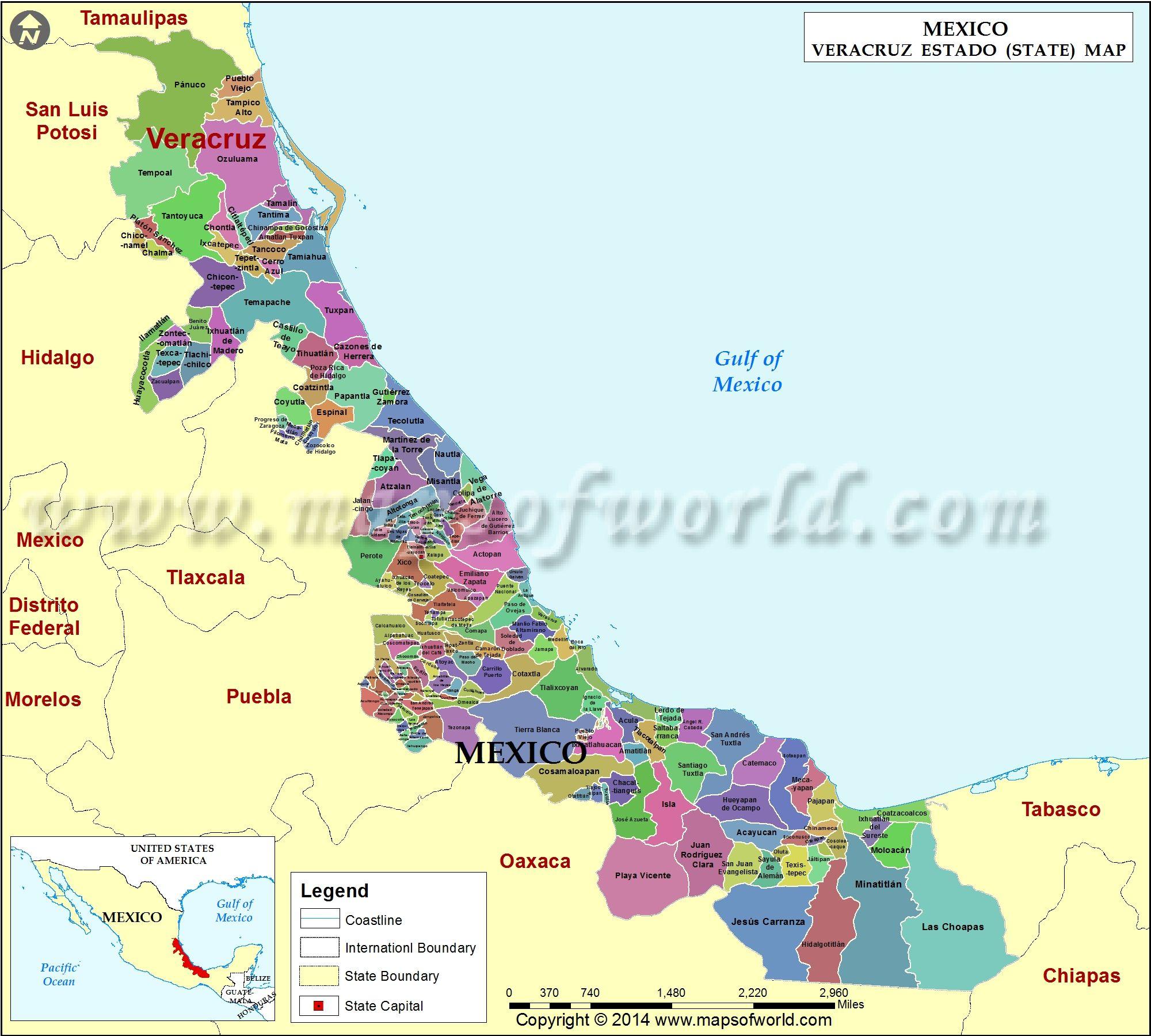 veracruz map veracruz mexico cultura de paà ses de habla hispana