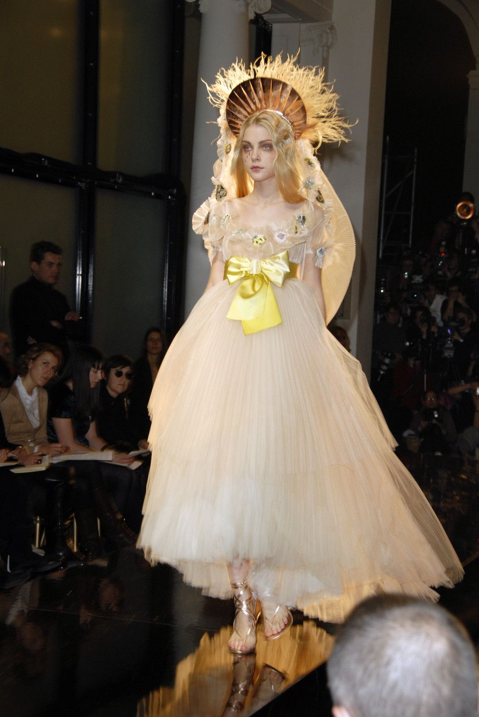"""givenchyrunway: """"Jean Paul Gaultier Couture Spring 2007 """""""