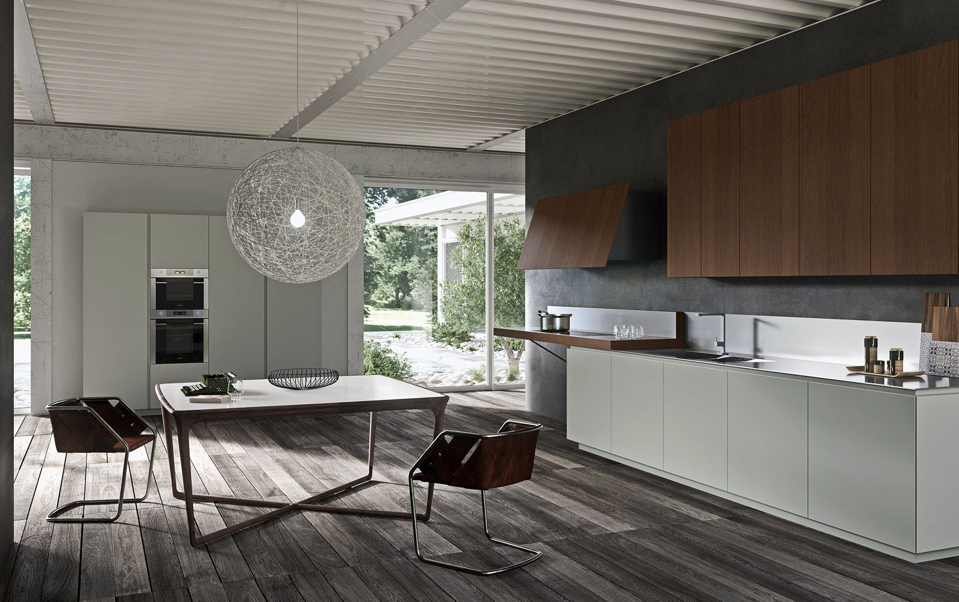 Modern Italian Custom Made Kitchen Cabinets Available In Brooklyn Ny Exclusive Home Interiors Modern Kitchen Modern Italian Kitchen Manufacturers
