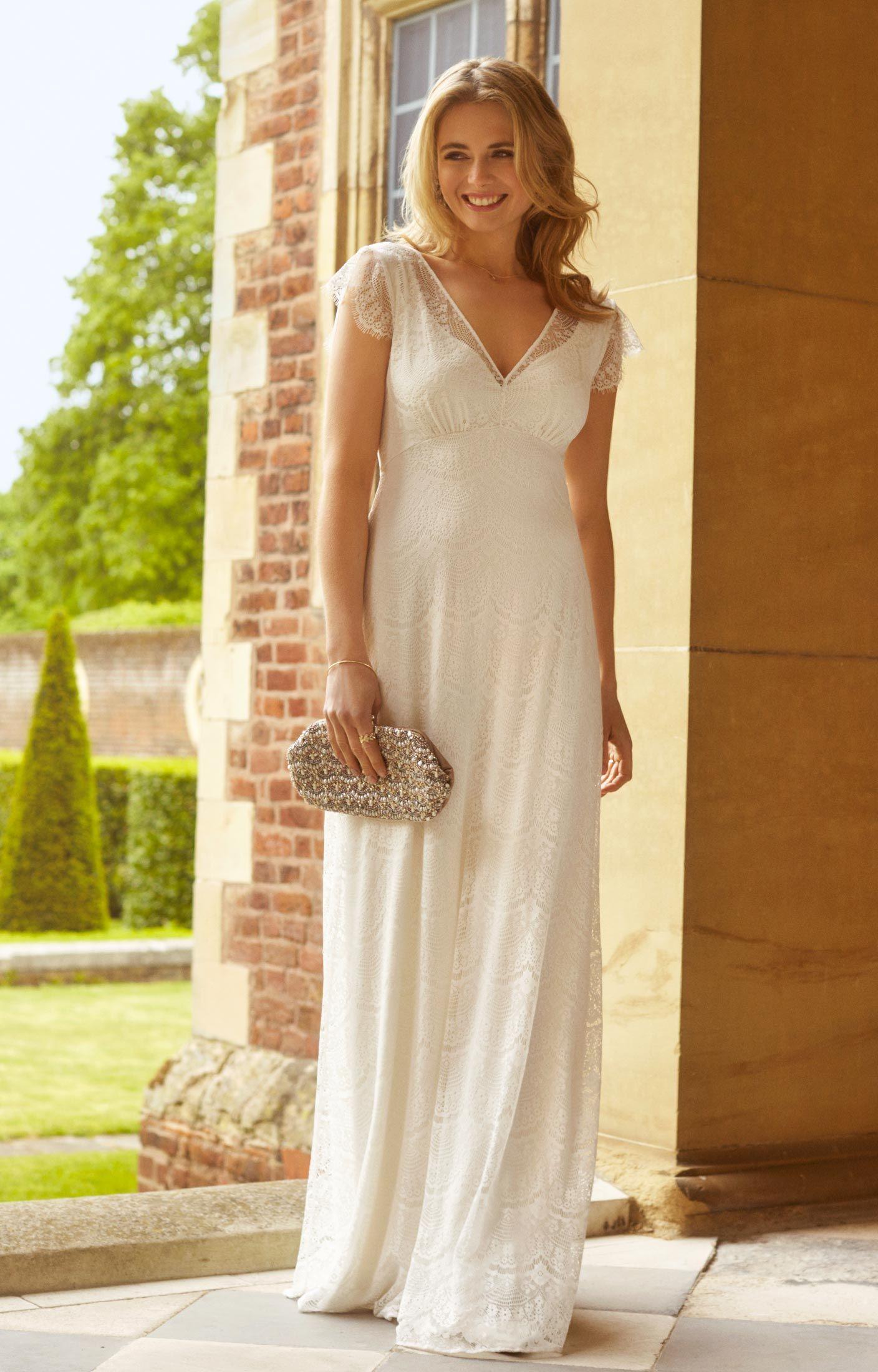 Isobel bodenlanges Kleid (Elfenbein) | Wundervoll, Brautkleid und ...
