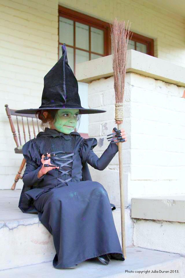 DIY Halloween Kid Costumes | Wicked witch costume, Witch costumes ...
