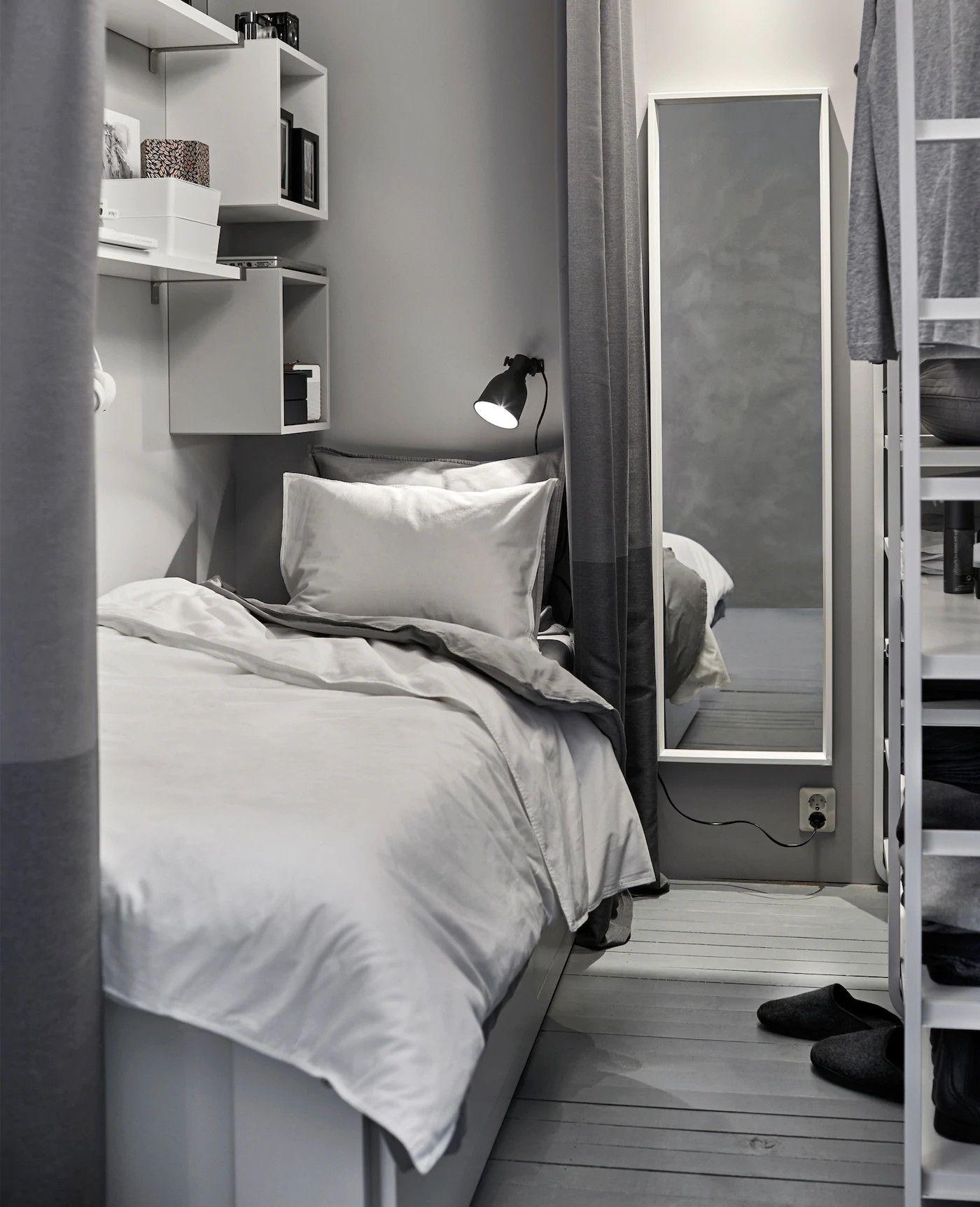 Comment cr er une toute petite chambre de moins de 2 - Comment faire un dressing dans une chambre ...