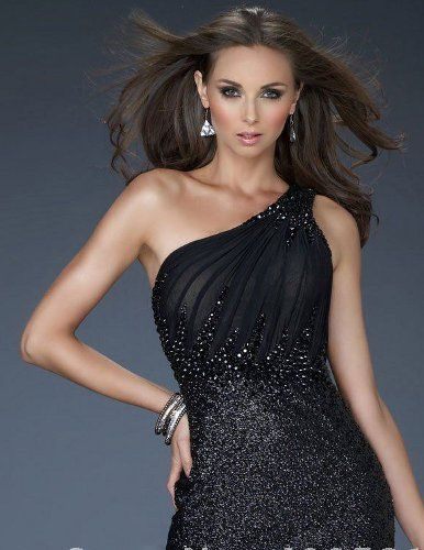 wear with a black sequin dress