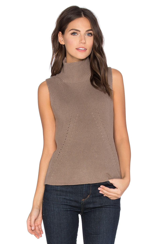 47e167e4c333c 525 AMERICA TURTLENECK SLEEVELESS SWEATER.  525america  cloth  dress  top   shirt