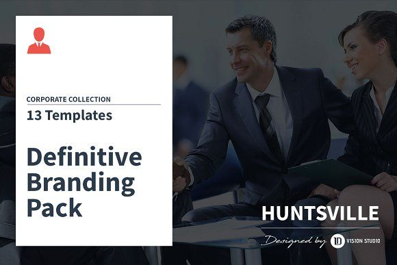 Huntsville - Corporate Branding Pack BUNDLE BRANDING PACK BRANDING