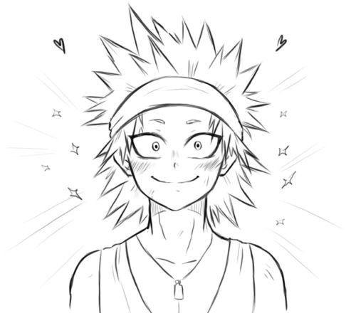 My Hero Academia Kirishima Eijirou Sketches My Hero Kirishima