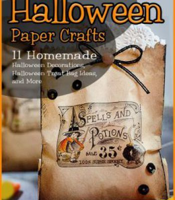 Halloween Paper Crafts 11 Homemade Halloween Decorations Halloween - halloween treat bag ideas