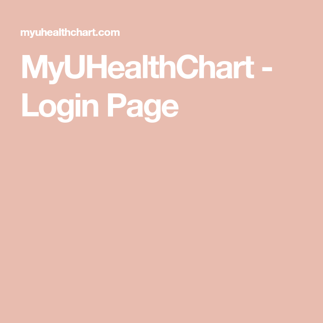 MyUHealthChart - Login Page | Disney | Login page, Disney