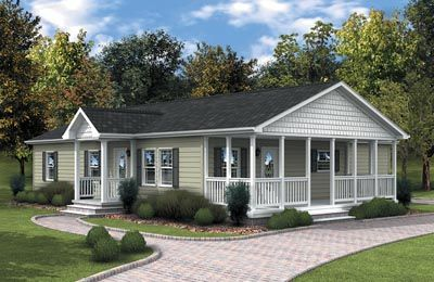 Dormers On a Ranch House | ... modular homes nc-cbs modular home  builders-cbs modular home dealers nc | Front porch | Pinterest | Ranch,  House and Porch