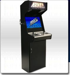 Arkeg combines a keg and retro style arcade game in one.