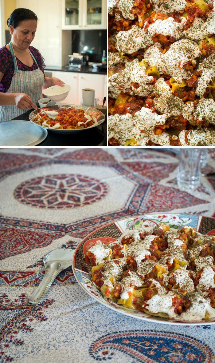 how to make afghan mantu