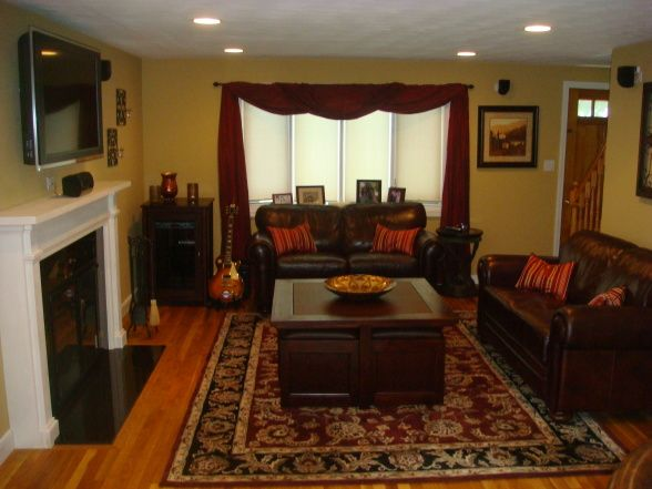 Tuscan Inspired Living Room   Living Room Designs   Decorating Ideas   HGTV Rate  My Space