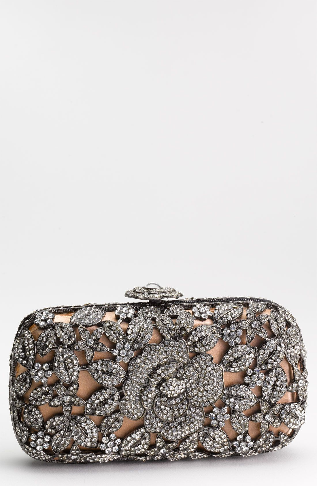 2db6c16cc8 Natasha Couture Crystal Caged Floral Clutch | Nordstrom | Wedding ...