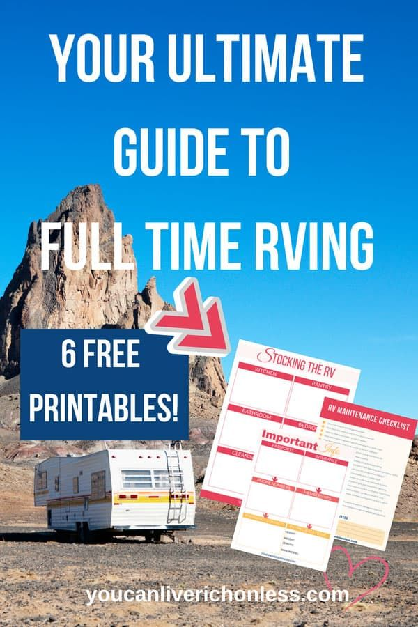 Full-Time RVing - HOWTO Downsize Your Property