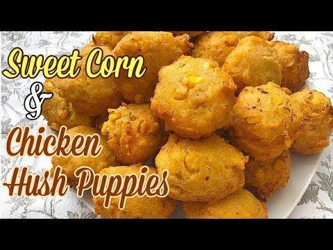 Chicken Fried Hush Puppies Homemade HOMEMADE HUSH